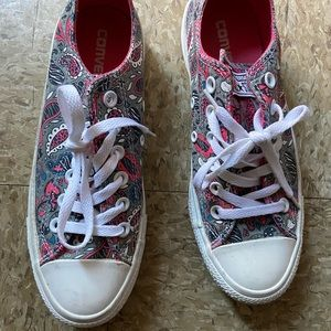 Converse All Stars Paisley Print Low Top Sneakers